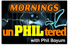 Phil Morning Talk Radio Live Webcast